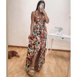 Vestido Zenotti estampado