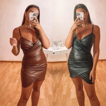 Vestido Polipiel